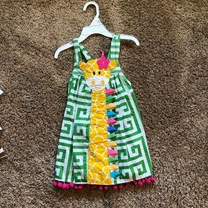 Mud Pie 3T giraffe dress